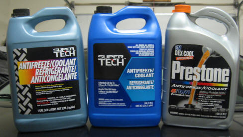 Antifreeze types and brands???? - Steve Saunders Goldwing Forums